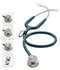 Photograph of MDF Unisex MDF MD One Epoch Titanium Stethoscope Green MDF777DT-21