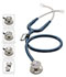 Photograph of MDF Unisex MDF MD One Epoch Titanium Stethoscope Blue MDF777DT-4