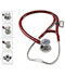 Photograph of critical care cardiology Unisex MDF ProCardial C3 Titanium Stethoscope Red MDF797CCT-17