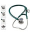 Photograph of MDF Unisex MDF ProCardial C3 Titanium Stethoscope Green MDF797CCT-21