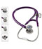 Photograph of critical care cardiology Unisex MDF ProCardial C3 Titanium Stethoscope Purple MDF797CCT-8