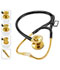 Photograph of MDF Unisex MDF ER Premier Stethoscope Gold Edition Yellow MDF797DD-K11