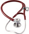 Photograph of critical care cardiology Unisex MDF Classic Cardiology Stethoscope Red MDF797T-17