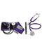 Photograph of MDF Unisex MDF Calibra BP & Acoustica Steth KIT Purple MDF808MKT2-8