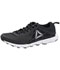 Photograph of Reebok Men's Athletic Footwear Black,White,Pewter MHEXAFFECTRUN-BWP
