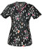 Photograph of Runway Prints Women's V-Neck Top Lovely To Meet Zoo RW606X8-LVZO