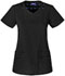 Photograph of Sapphire Women's Paris V-Neck Top Black SA601A-BBKS