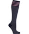Photograph of Celeste Stein Women's WLWN Pink Stripe on Navy WLWN-NSTRP