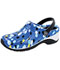 Photograph of Anywear Unisex Anywear Injected Clog w/Backstrap Last But Dot Least ZONE-LDOT