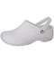 Photograph of Medical Footwear Unisex Anywear Injected Clog w/Backstrap White ZONE-WHT