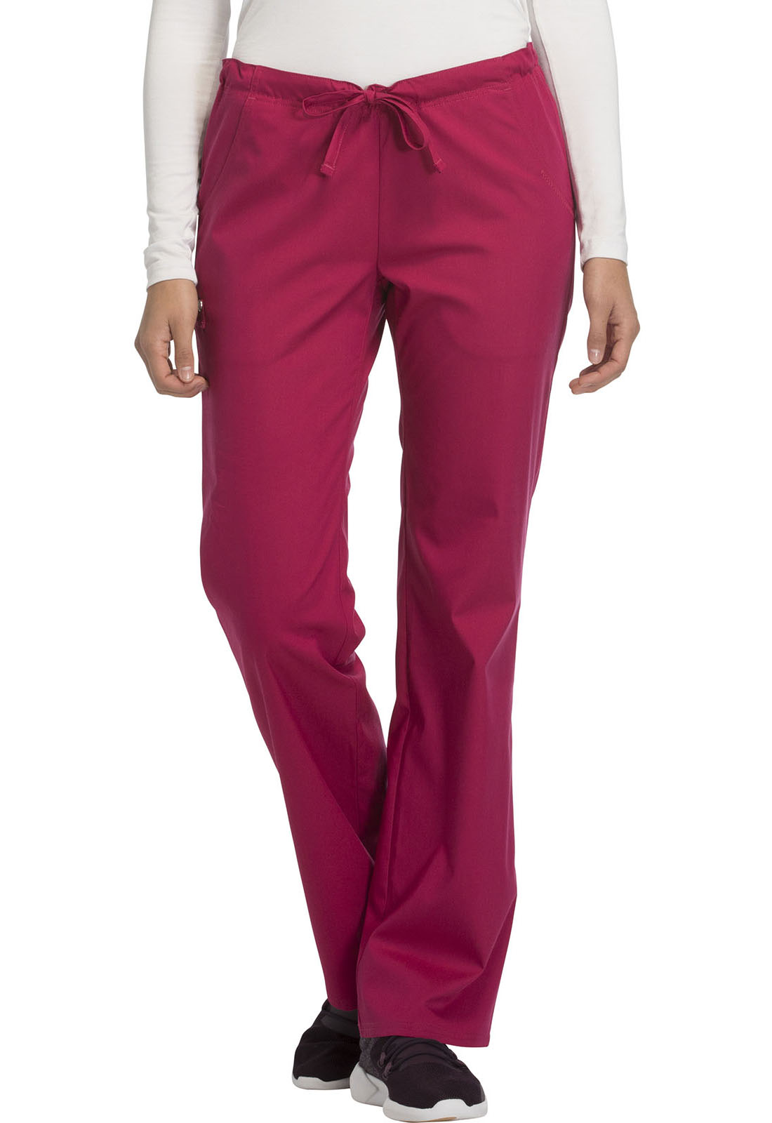 4d52df242e7 Cherokee Luxe Low Rise Straight Leg Drawstring Pant 1066P-UPBT from ...