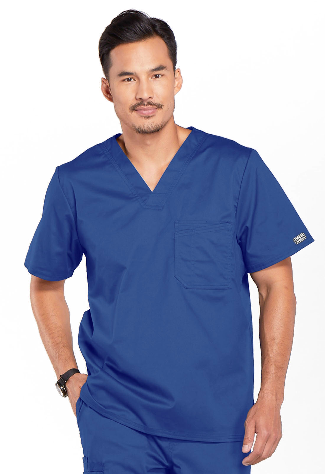 2c861dd9c2c WW Core Stretch Men's V-Neck Top in Galaxy Blue 4743-GABW from ...