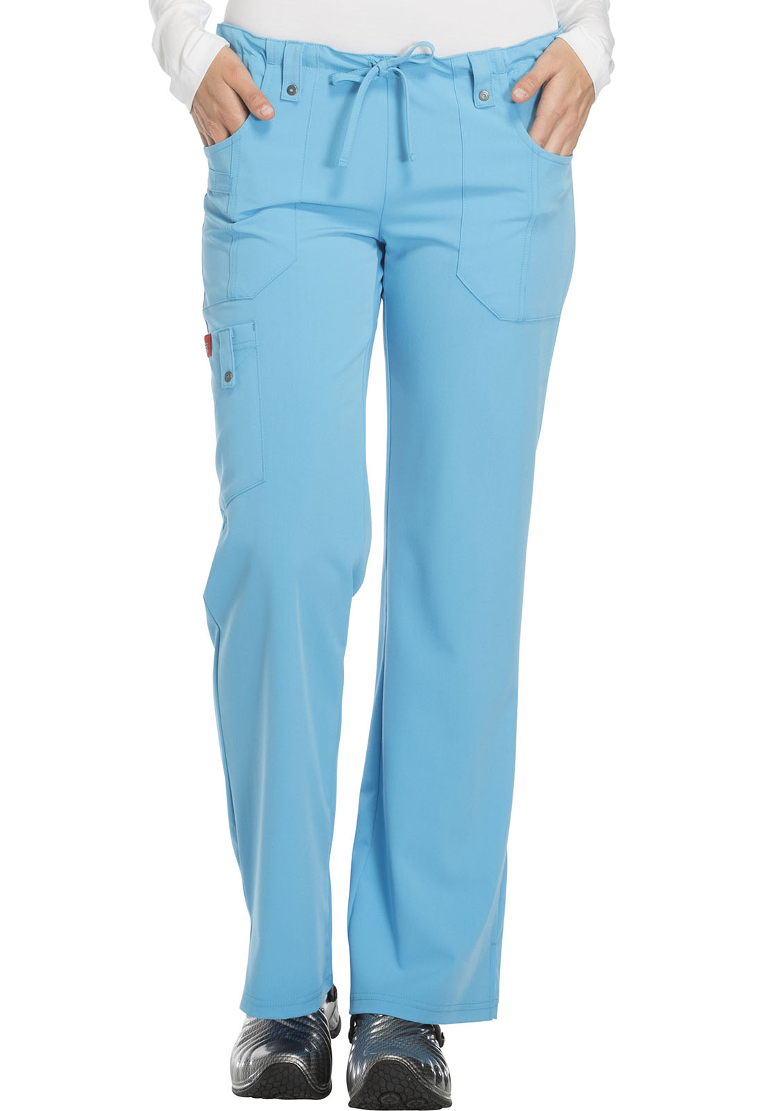 228b53895de Xtreme Stretch Mid Rise Drawstring Cargo Pant in True Blue 82011 ...