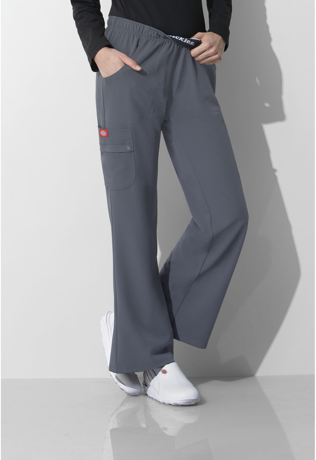 e6f10a437d9 Dickies Xtreme Stretch Mid Rise Pull-On Cargo Pant 82012-PEWZ from ...