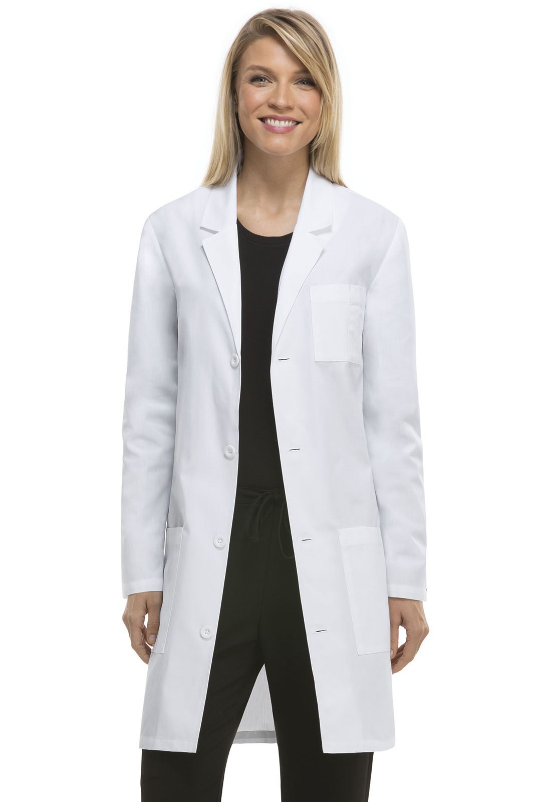 Embroidered Short Length Lab Coats