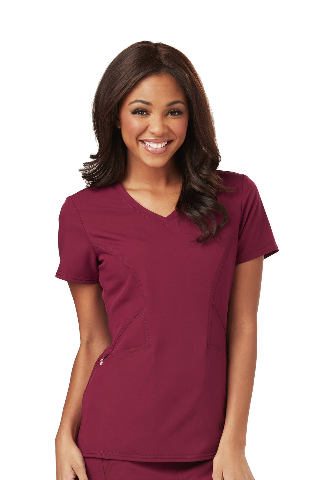 cde6d198c05 Careisma Fearless V-Neck Top CA601-WIN from Scrubs Stop