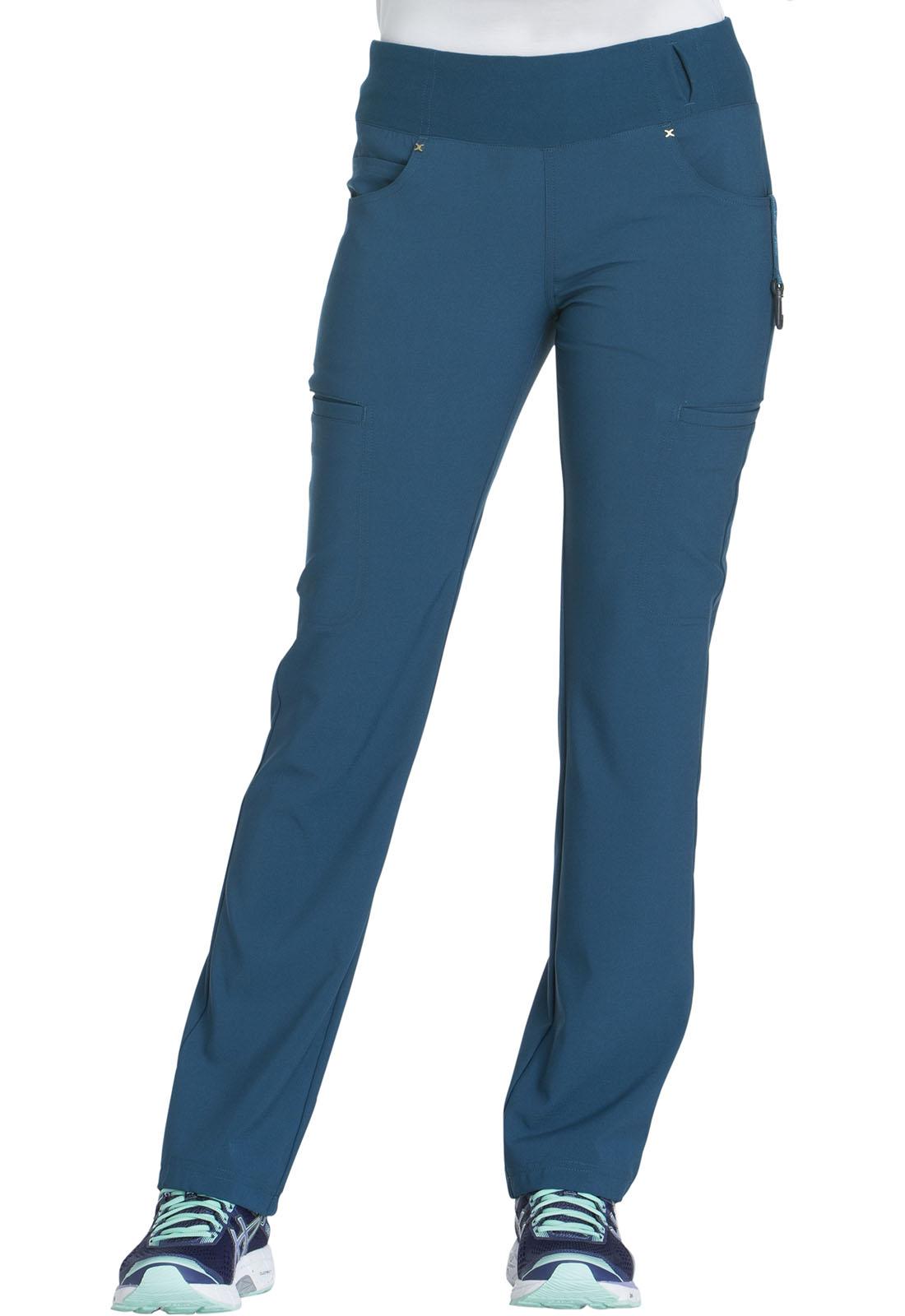 c99c2049d44 iFlex Mid Rise Straight Leg Pull-on Pant in Caribbean Blue CK002-CAR ...