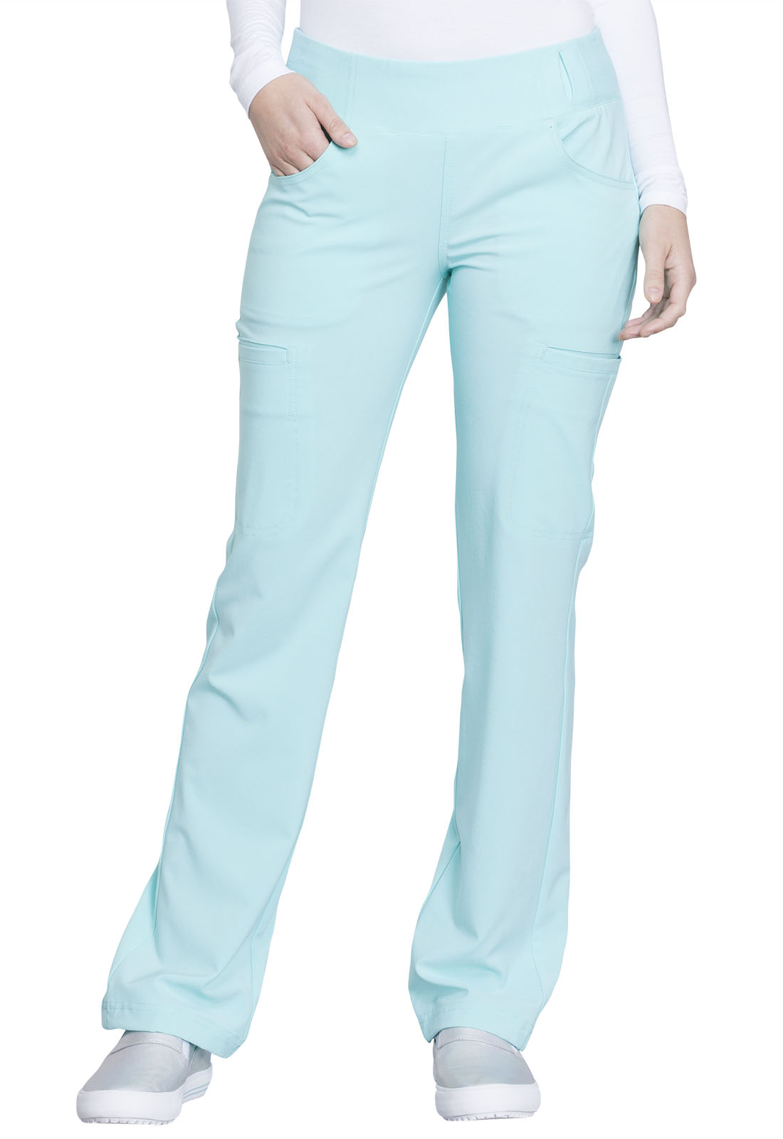 092e2ee825b iFlex Mid Rise Straight Leg Pull-on Pant in Ocean Wave CK002-OCSH ...