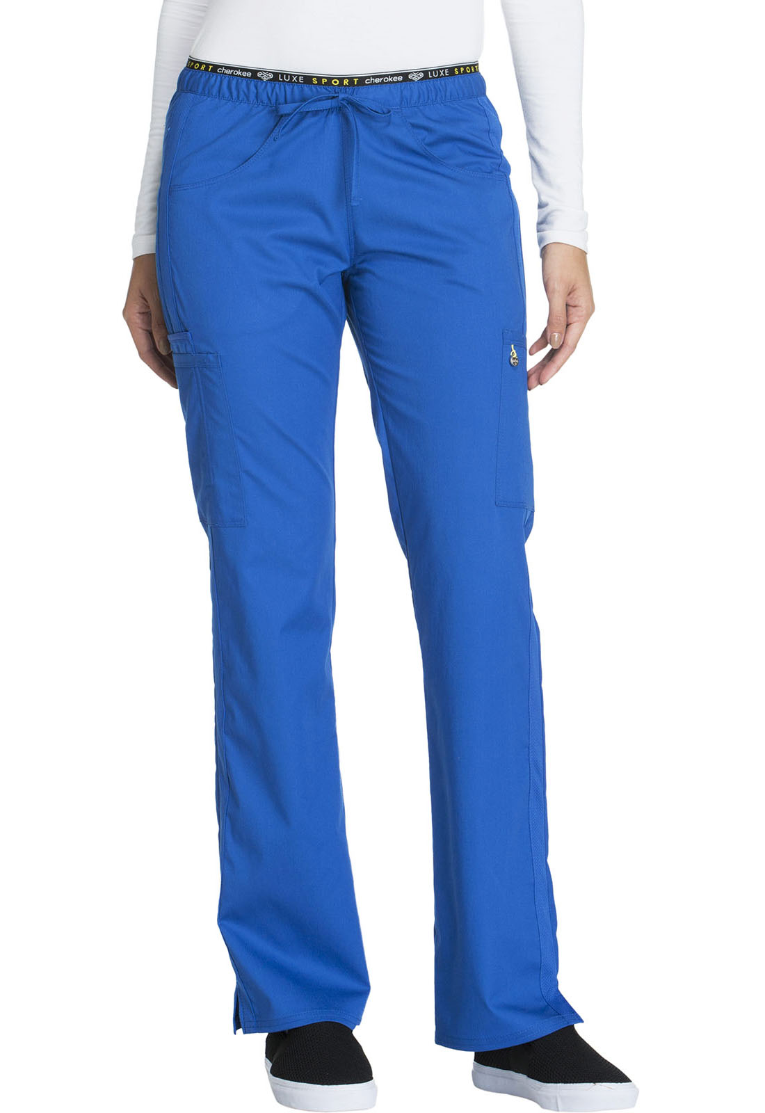 5dce7d90c2e Luxe Sport Mid Rise Straight Leg Pull-on Pant in Royal CK003T-ROYV ...