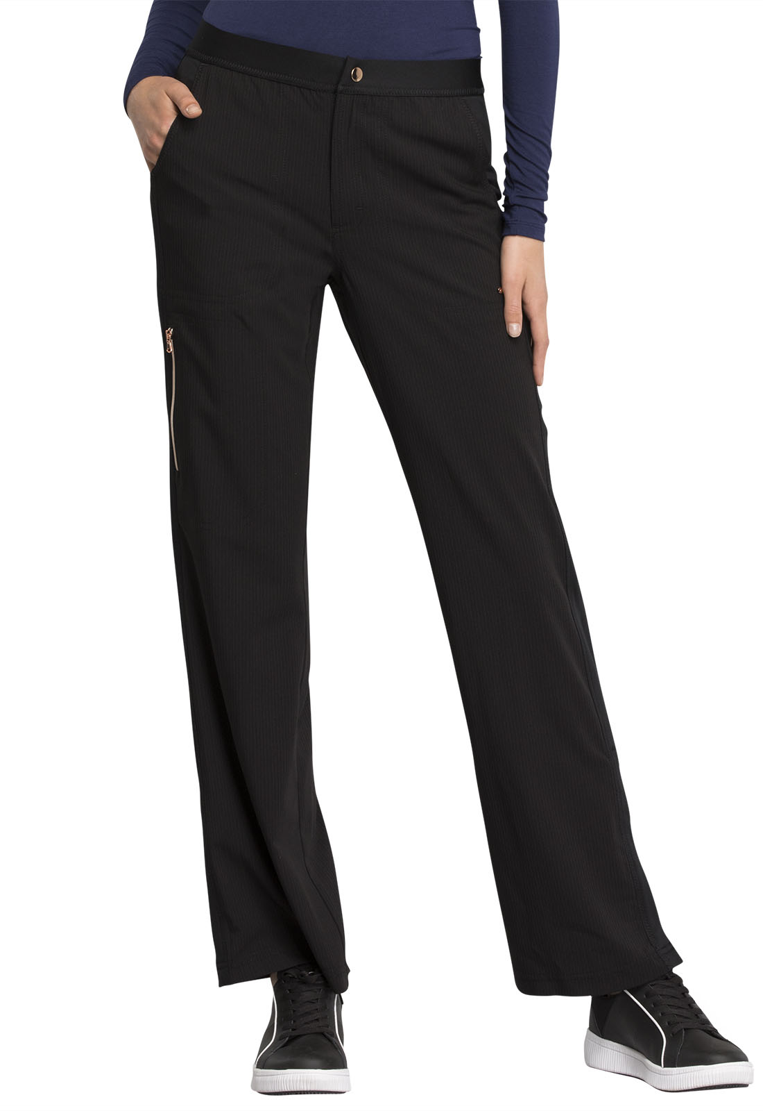 bfd9a3a3ea4c1 Statement Natural Rise Flare Leg Pant in Black CK060-BLK from AAA ...