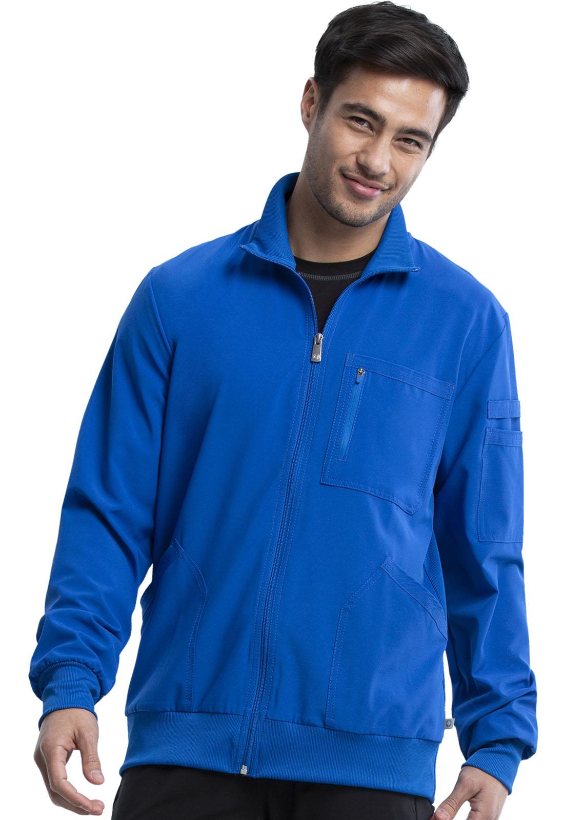 4b536873c06 Infinity Men's Zip Front Jacket in Royal CK305A-RYPS from Cherokee ...