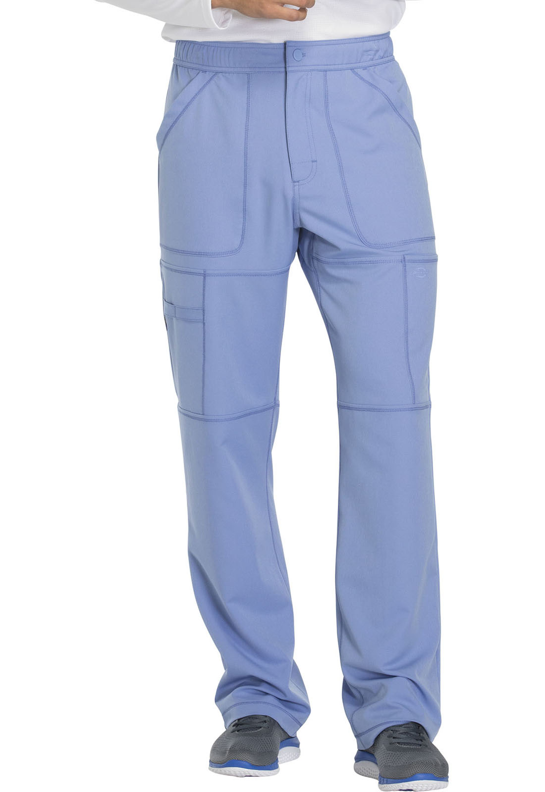 bd47f4d172c Dickies Dynamix Men's Zip Fly Cargo Pant in Ciel Blue from Dickies ...