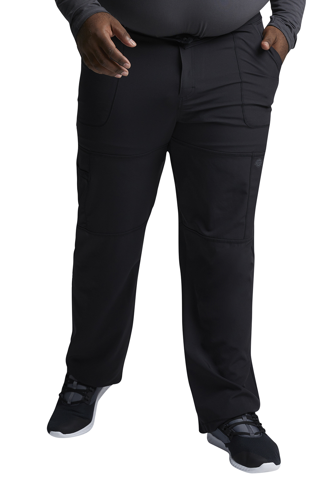many styles recognized brands where to buy Dickies Men's Zip Fly Cargo Pant (Regular) in Black from Dickies Medical