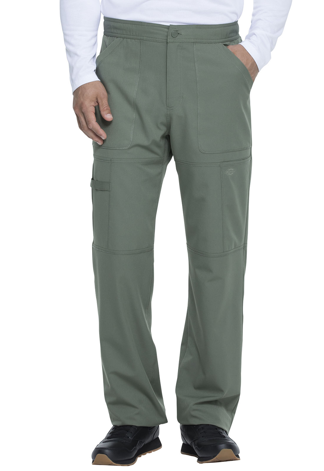hot new products uk availability low priced Dickies Men's Zip Fly Cargo Pant (Regular) in Olive from Dickies Medical