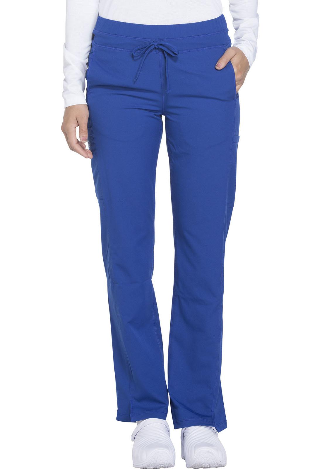 00445f0570f Dynamix Mid Rise Straight Leg Drawstring Pant in Galaxy Blue DK130P ...