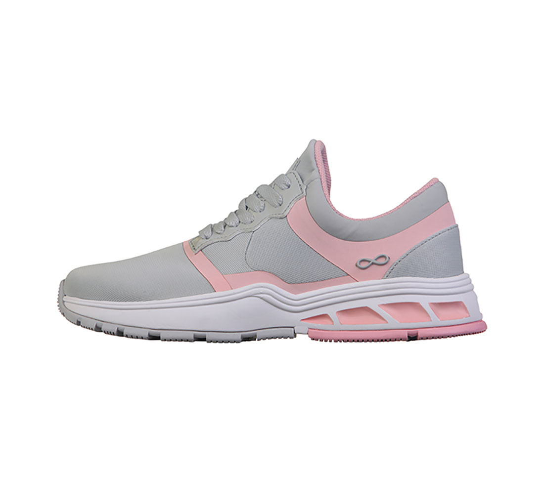 7f276e77ef9e Infinity FLY in LIght Grey with Power Pink FLY-LGPP from Cherokee ...