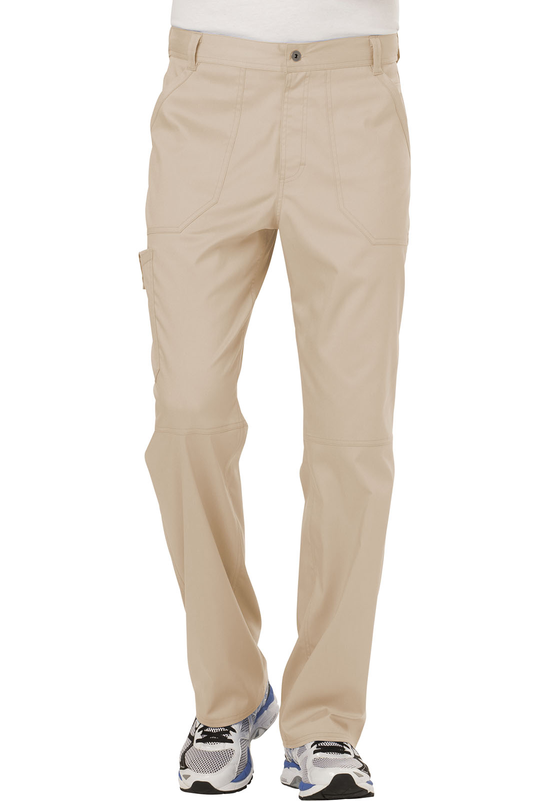 f01107f174f WW Revolution Men's Fly Front Pant in Khaki WW140-KAK from Cherokee ...