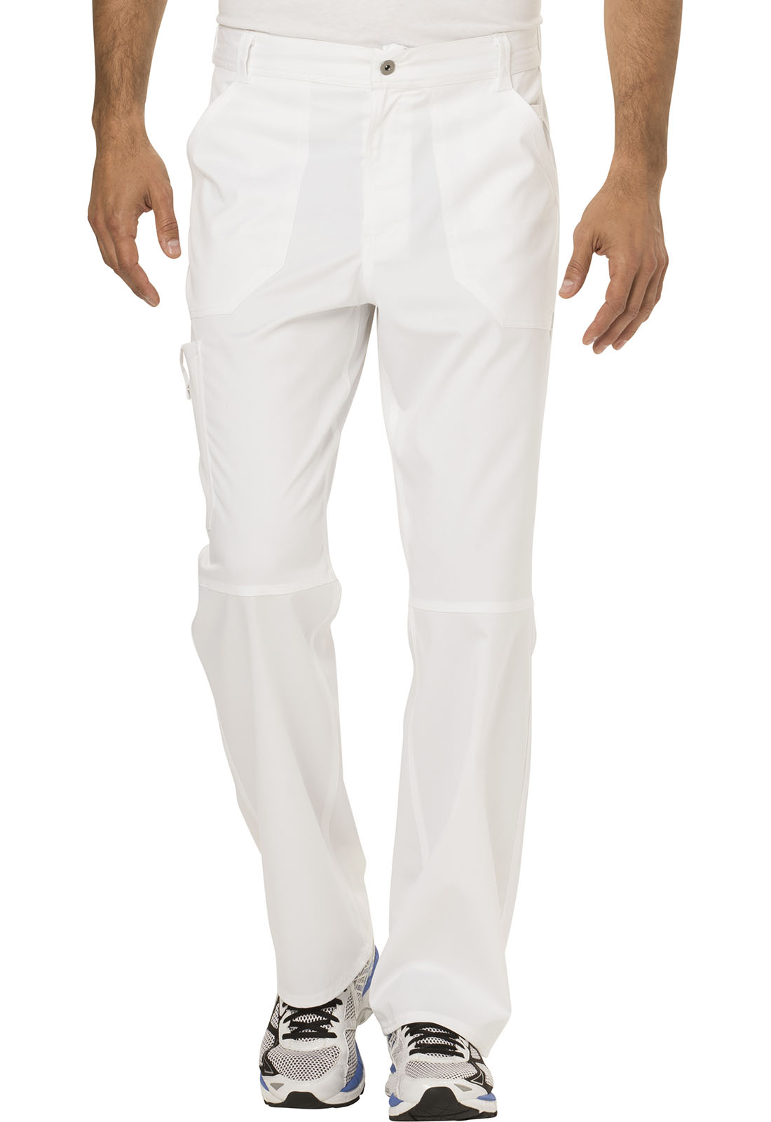 2f62f23cadb WW Revolution Men's Fly Front Pant in White WW140-WHT from Cherokee ...