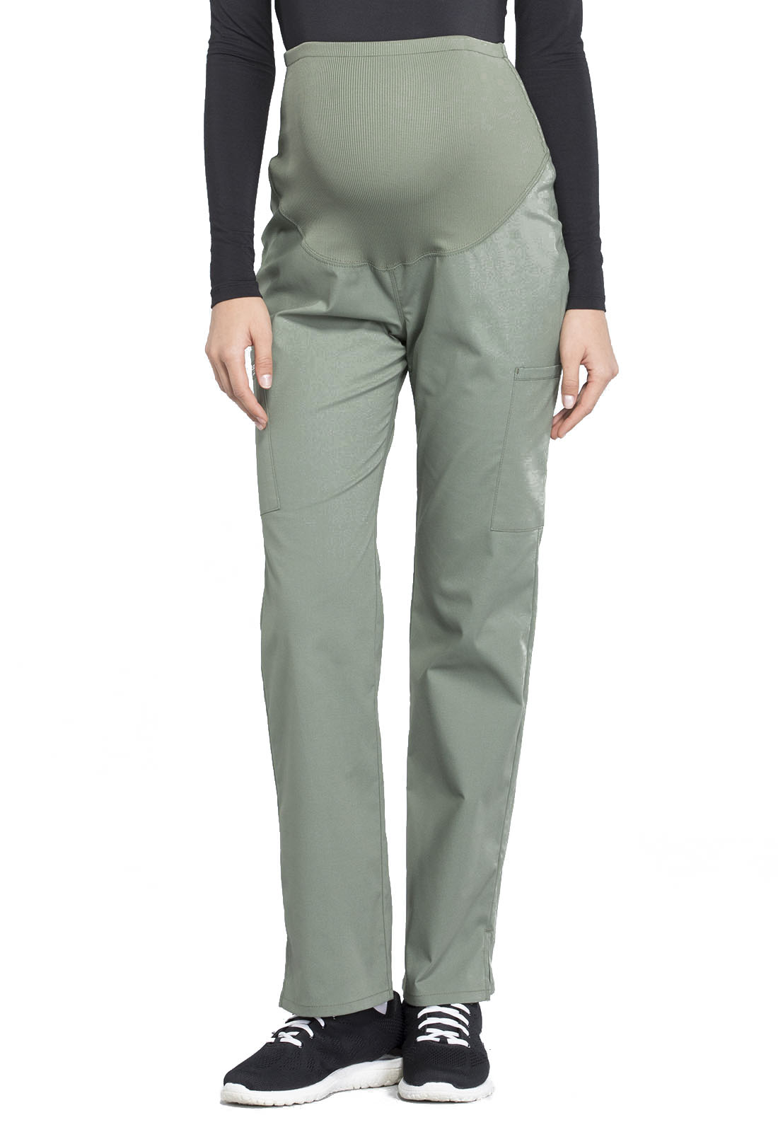 aa748333293 WW Professionals Maternity Straight Leg Pant in Olive WW220-OLV from ...