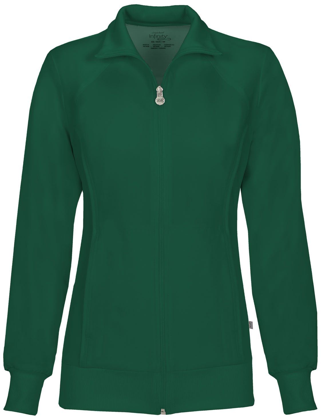 a477954923b Infinity Zip Front Warm-Up Jacket in Hunter Green 2391A-HNPS from ...