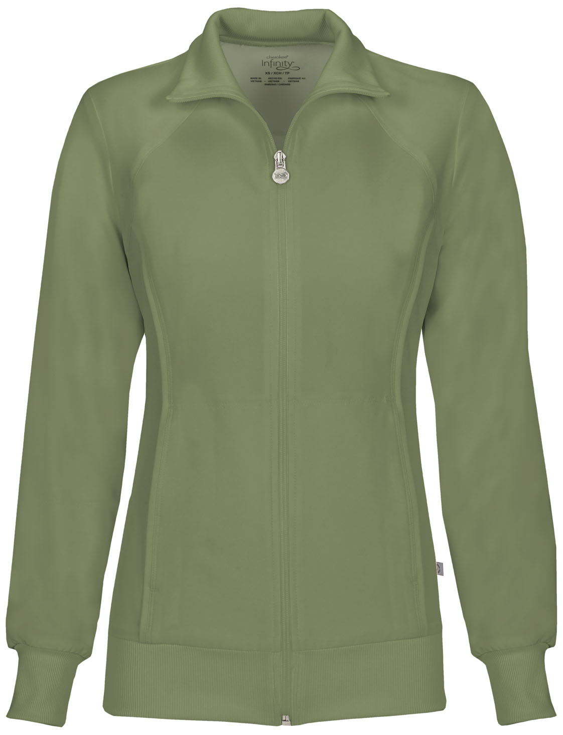 Cherokee Infinity Women's Zip Front Warm-Up Jacket - 2391A ...