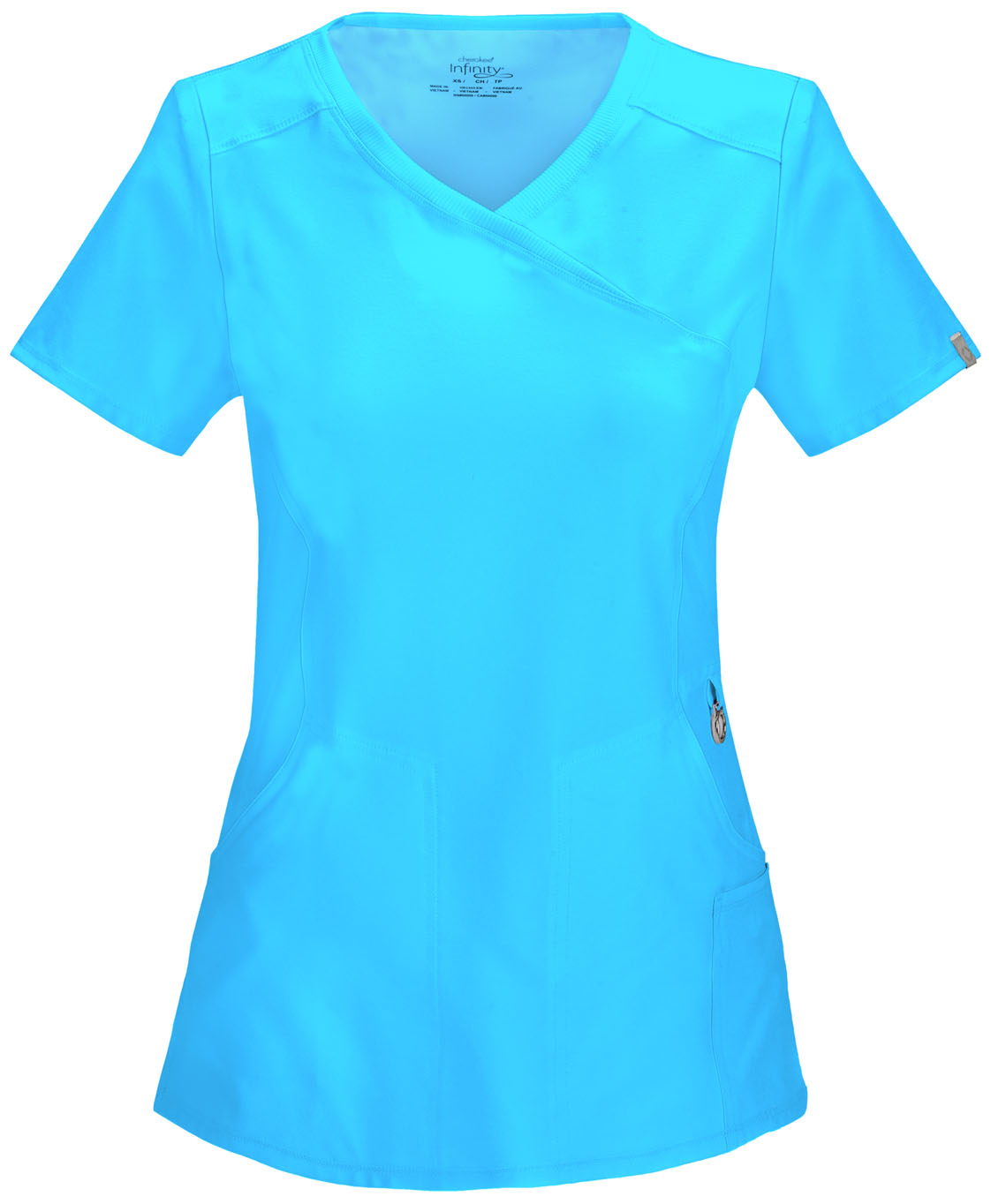 tlps cherokee infinity product clark mock by women top s uniforms blue from wrap