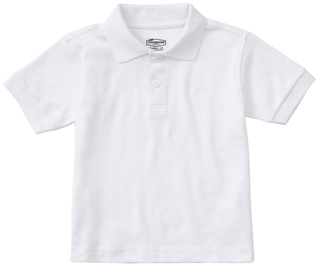 Classroom School Uniforms Kids Toddler Unisex Short Sleeve Interlock Polo