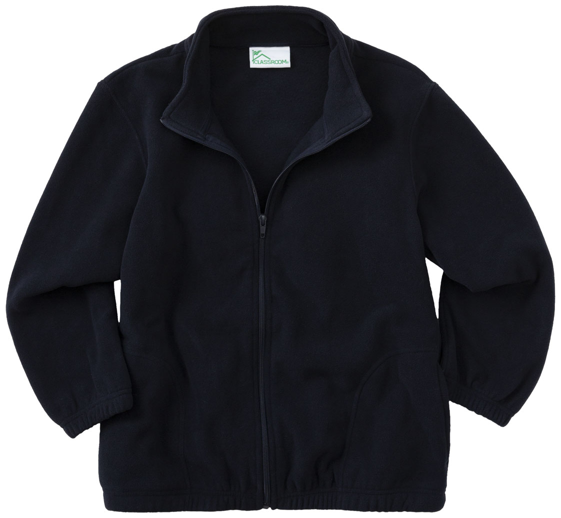 Classroom Adult Unisex Polar Fleece Jacket 59204-DNVY from ...