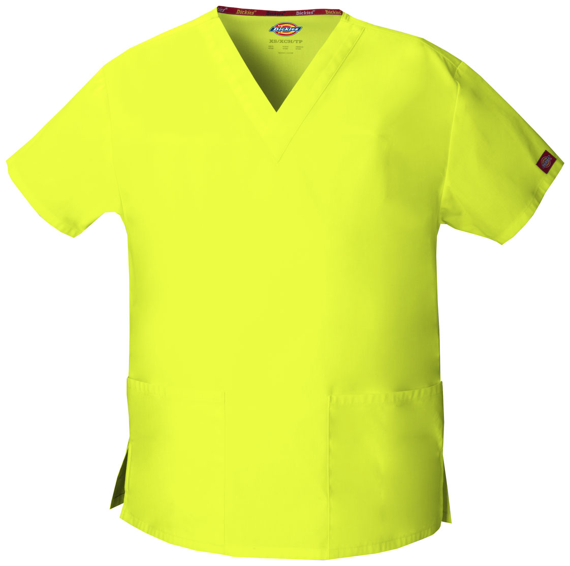2260002da67 EDS Signature V-Neck Top in Lime Punch 86706-LIPZ from Scrubs Plus