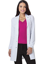 HeartSoul Lab-solutely Fabulous 34 Lab Coat White (20402-WHIH)