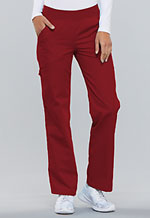 Photo of Mid Rise Knit Waist Pull-On Pant