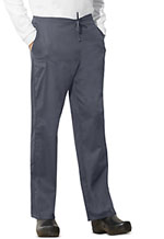 Cherokee Workwear Unisex Natural Rise Drawstring Pant Pewter (34100A-PWTW)