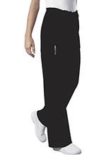 Cherokee Workwear Unisex Drawstring Cargo Pant Black (4043-BLKW)