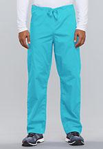 Cherokee Workwear Unisex Drawstring Cargo Pant Turquoise (4100-TRQW)
