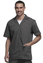 Cherokee Workwear Men's Zip Front Jacket Pewter (4300-PWTW)
