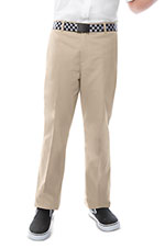 Photo of Boys Adj. Waist Flat Front Pant