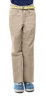 Classroom Uniforms Classroom Girls Adj. Waist Low Rise Pant in Khaki (51072-KAK)