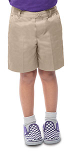 Photo of Preschool Unisex Flat Front Short