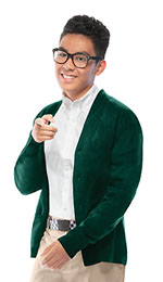 Photo of Youth Unisex Cardigan Sweater