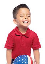 Photo of Preschool Unisex SS Interlock Polo